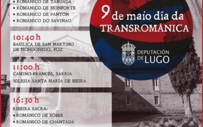 DÍA INTERNACIONAL DA TRANSROMÁNICA, 9 DE MAIO. COÑECE O ROMÁNICO LUCENSE. VISITA A STA. Mª DE MEIRA.