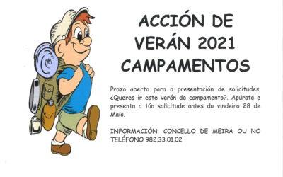 BANDO. «PROGRAMA CAMPAÑA DE VERÁN»: CAMPAMENTOS DE VERANO DE LA XUNTA DE GALICIA